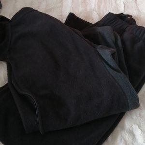 Foot Locker fleece jacket and pants